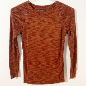 Relativity Long Sleeve Striated Knit Sweater